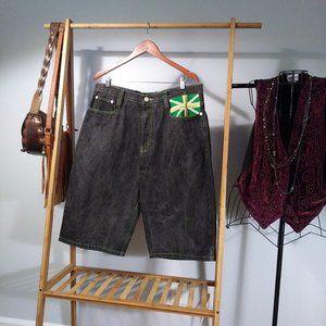 COOGI Jean Denim Shorts Men's 36 Multicolor Cotton